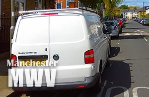 Birch-parked-van
