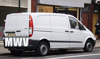 Van removal team in Mottram-in-Longdendale