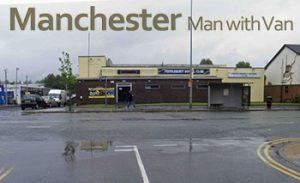 Book man and van in  M27 - Pendlebury